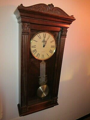 Howard Miller Quartz Movement 2215 Westminster 4/4 Ave Maria Chime Wall Clock