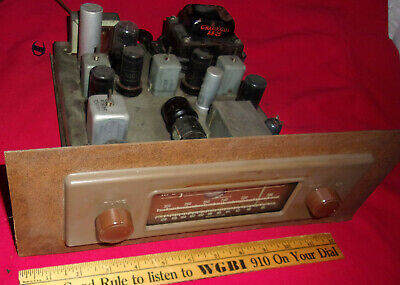 VINTAGE MAGNAVOX FM TUBE TUNER CR192 From Regency Symphony Console 1947