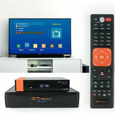 GT-MEDIA V7S HD Digital Satellite TV Receiver DVB-S2 STB Box W/ USB
