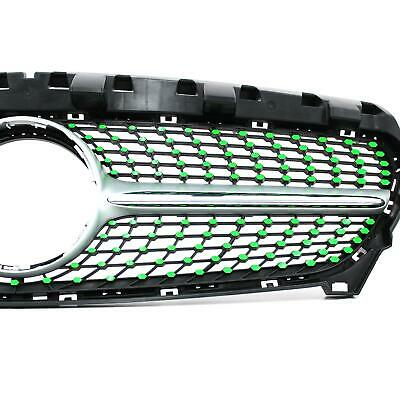 Neon Green Film for Mercedes W117 Facelift Diamond Grille Grille Cover D059