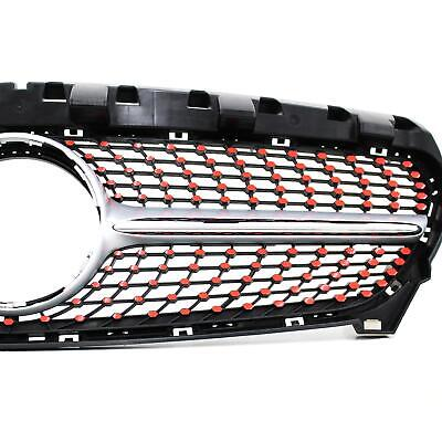 Neon Red Film for Mercedes W117 Facelift Diamond Grille Grille Cover D059
