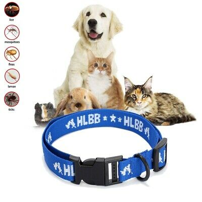 Dogs Cats for 4-Month Effective Anti Fleas & Ticks& Mosquitoes Pet Collar F H7M3