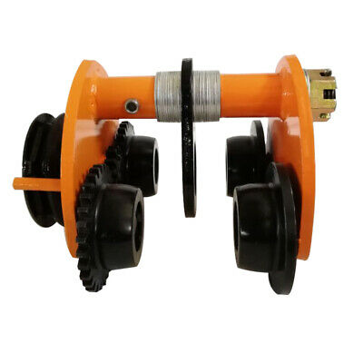 Manual Trolley Push Beam Track Roller Monorail I-Beam Track  2Ton/4400Lbs