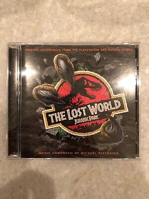 The Lost World Jurassic Park Game CD Soundtrack Michael Giacchino
