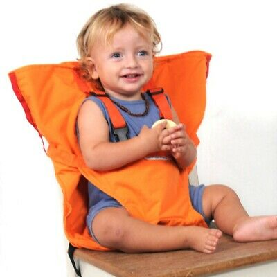 Baby Toddler High Chair Feeding Seat Infant Travel Seat Safety Belt Cover NEW