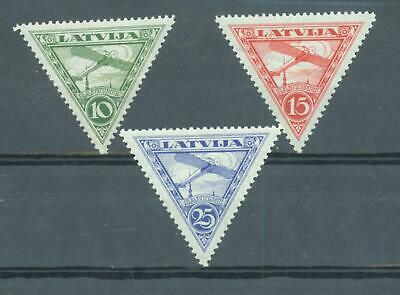 Latvia 1928 Air sg.155-7 MH set of 3