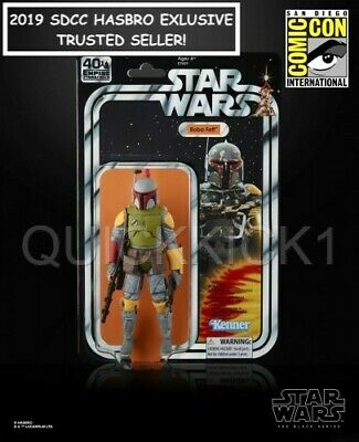 Boba Fett Star Wars The Black Series 6 Inch Figure 2019 Sdcc Hasbro Exclusive!