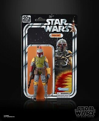 "Hasbro Star Wars Black Series 6"" Boba Fett Figure 2019 SDCC Exclusive"