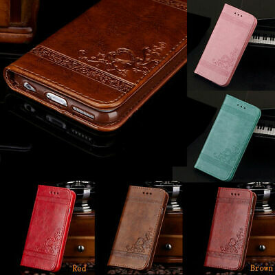 For Samsung Galaxy A20e A50 A40 A70 Phone Leather Flip Card Wallet Case Cover