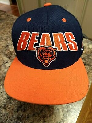 7b67578d CHICAGO BEARS RETRO Deadstock Vintage Shark Tooth Mitchell & Ness ...