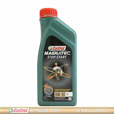 Castrol Magnatec Stop-Start 0w-30 C2 Fully Synthetic Engine Oil - 1 Litre 1L