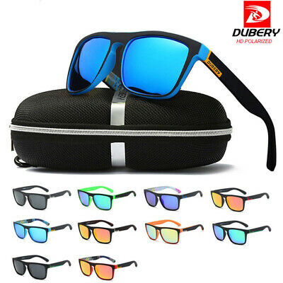 Polarized Mens Sunglasses Polarised new Style Square Frame Sport Driving Glasses