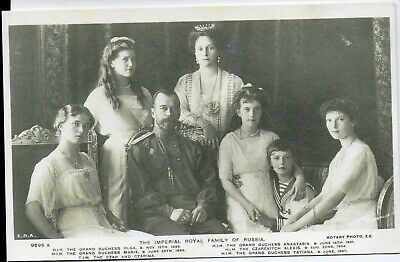 postcards royalty russian - The Imperial Royal Family of Russia