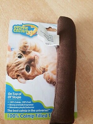 Cosmic North American Catnip Refillable On Top Of Ol Stogie Cat Kitten Toy
