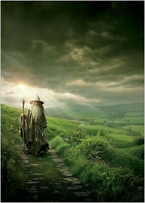 Maxi A1 A2 A3 A4 The Hobbit Lady Galadriel Large Poster or Canvas Art Print