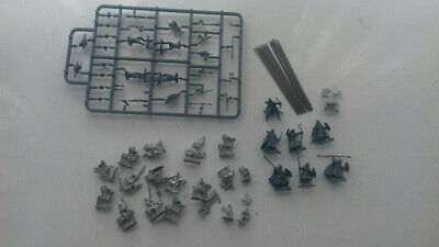 unpainted wargaming soldiers mixed lot
