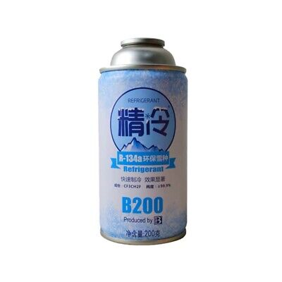 R134A Seal Automotive Snow Species Refrigerant Fast Cooling Cans Eco-Friend O6Z4
