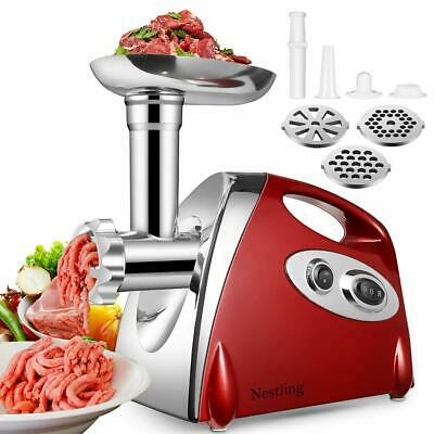 Ammiy Electric Meat Mincer Grinder and Sausage Maker,Powerful 2800 Watt Copper