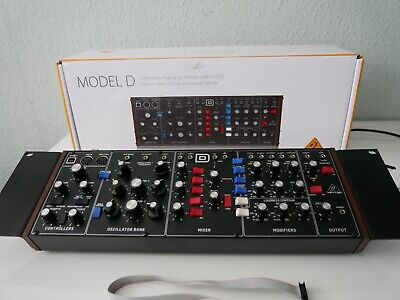 "Behringer Model D - inkl. 19"" Montage-Kit - OVP"