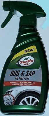 Turtle Wax Bug Sap Remover Easy Car Cleaner Tree Sap Stains Spray 300ml each