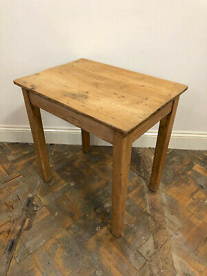 Small Rustic Wooden Pine Farmhouse Table- Delivery Available