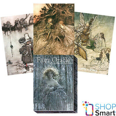 Fairy Oracle Cards Deck Arthur Rackham Lo Scarabeo New