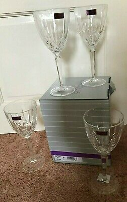 Waterford Marquis Sparkle Goblet Glasses X 4 New In Box
