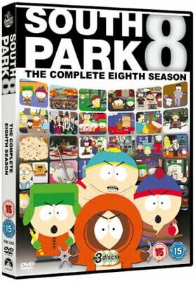 South Park - Season 8 - The Complete Eight 8th Season Brand New UK Region 2 DVD