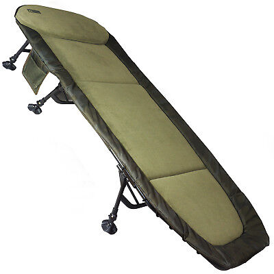 NEW Sonik SK-TEK Camo Levelbed 6 Leg Bedchair With Storage Carp Fishing SKTCH050
