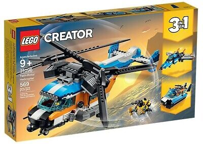 LEGO® Creator 31096 - Doppelrotor-Hubschrauber, Twin-Rotor Helicopter, 3-in-1-S