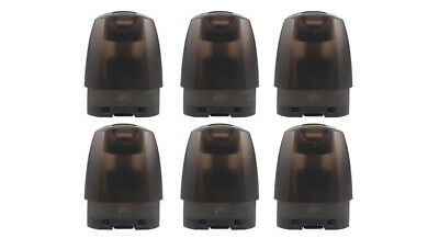 Authentic JUSTFOG MINIFIT Replacement Pod Cartridge (6-Pack) Black