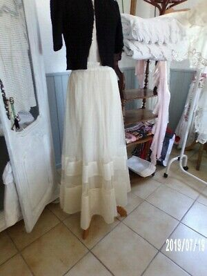 JUPE Ancienne Soie & Tulle