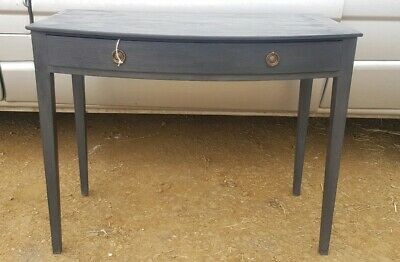 Victorian Mahogany Side Table Later Painted