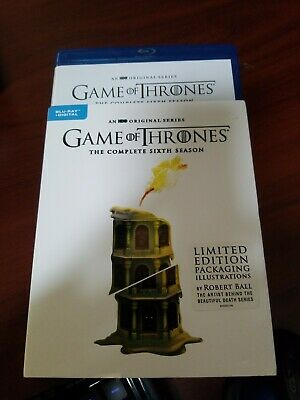 Game of Thrones The Complete 6th Sixth Season Blu-ray Disc, NO Digital Copy