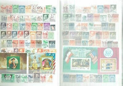 D445 stockbook stamp collection misc world on 10sides