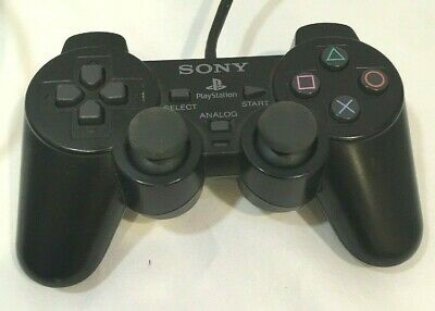 PS2 Controller Genuine Official Sony OEM SCPH-10010 Analog Playstation Untested