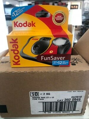Lot 500 x Kodak Fun Saver Disposable Single Use Cameras with Flash 39 Pictures