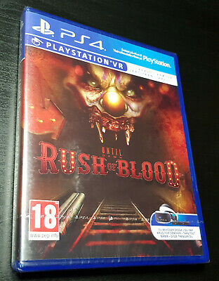Until Dawn Rush Of Blood (PS4 VR) BRAND NEW