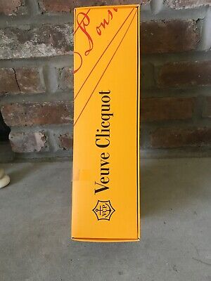 Veuve Clicquot Brut Orange Empty Box ONLY Champagne
