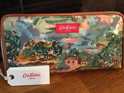 Cath Kidston Genuine New Artists View Continental Zipped Purse / Mini Wallet