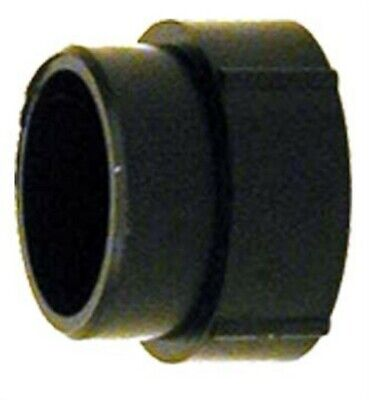 "Charlotte Pipe Fitting Abs/Dwv Spg X Fpt 2 "" Black"