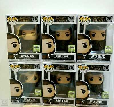 Funko Pop! Game of Thrones Arya Stark Assassin #76 ECCC Shared Exclusive 🔥