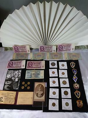 Junk Drawer LOT Vintage Russia Military, currency, 1800'a photo and much more