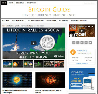 * BTC * blog turnkey affiliate website business for sale AUTO CONTENT