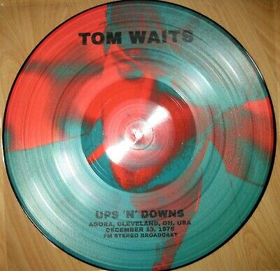 Limited PICTURE LP Ups & downs TOM WAITS -------- Neil Young Nick Cave Bob Dylan