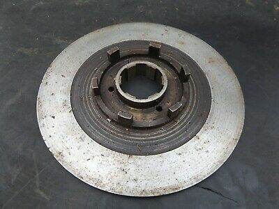 Vintage Pre War Velocette Motorcycle Back Plate For Clutch C1/3 3 Plate