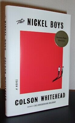 The Nickel Boys by Colson Whitehead (HC 2019) SIGNED US 1ST/1ST WITH COA