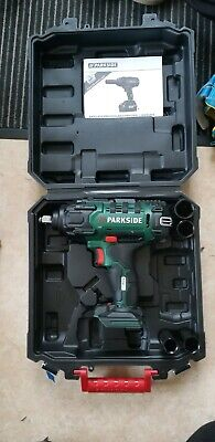 Parkside powerful Cordless car Vehicle Impact Wrench Gun 20V team 5 settings