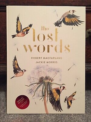 """The Lost Words by Jackie Morris, Robert Macfarlane Sold Out """"Special Edition"""""""
