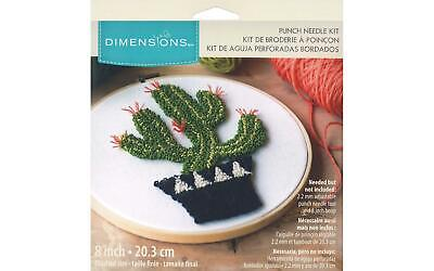 Dimensions Dim70026 Punch Needle Kit 8 Prickly Cactus